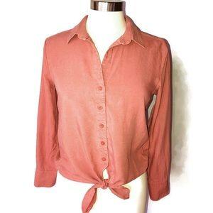 Cloth & Stone Long Sleeve Blouse Women's Size XS
